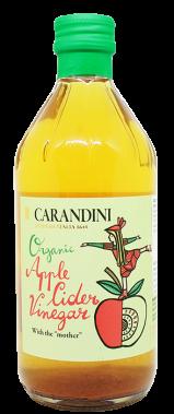 "Apple cider vinegar unfiltered ""CARANDINI BIO"" 500ml"