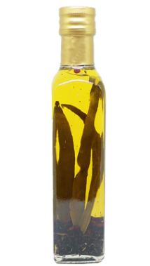 Basil infused olive oil, 250 ml