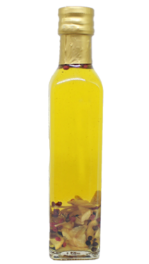Garlic infused olive oil, 250 ml