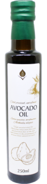Unrefinded avocado oil, 250 ml