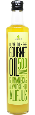 Gourmet olive oil with ghee butter, 500 ml