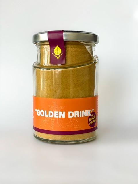 GOLDEN  MILK with maca powder, 120g