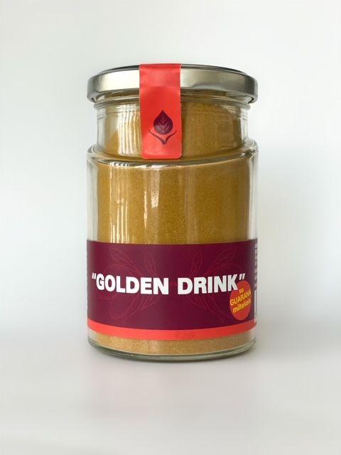 GOLDEN  MILK with guarana powder, 120g