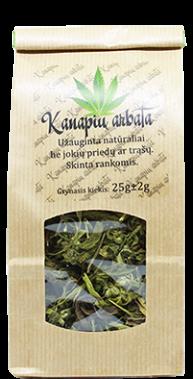 Kanapių arbata, 25g