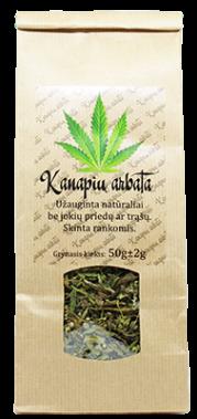 Hemp tea, 50 g
