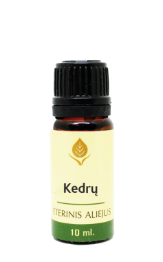 Kedrų eterinis aliejus, 10 ml