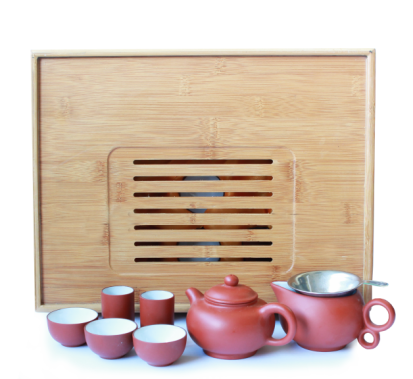 Tea set from Yixing clay