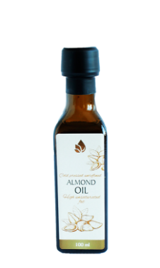 Unrefined almond oil, 100 ml