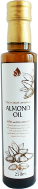 Unrefined almond oil, 250 ml