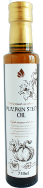 Unrefined pumpkin seed oil, 250 ml