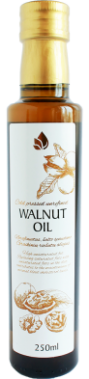 Unrefined walnut oil, 250 ml