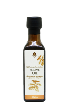 Unrefined sesame seed oil, 100 ml