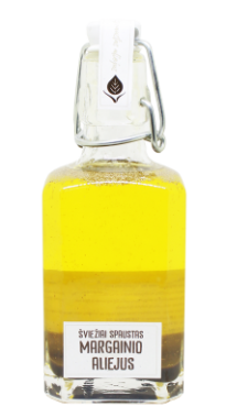 Cold pressed unfiltered milk thistle seed oil, 250 ml