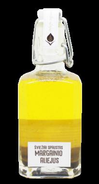 Margainių sėklų šviežiai spaustas nefiltruotas aliejus, 250 ml