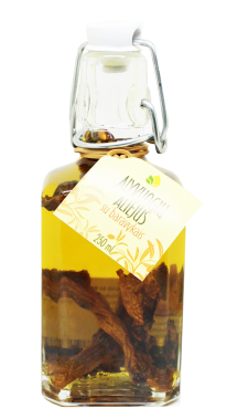 Mushrooms infused olive oil, 250 ml
