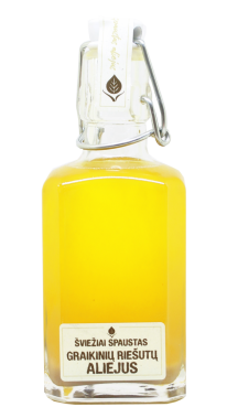 Cold pressed unfiltered walnut oil, 250 ml