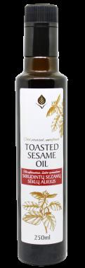 Skrudintų sezamų nerafinuotas aliejus, 250 ml