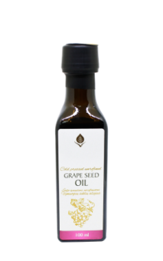 Refined grape seed oil, 100 ml